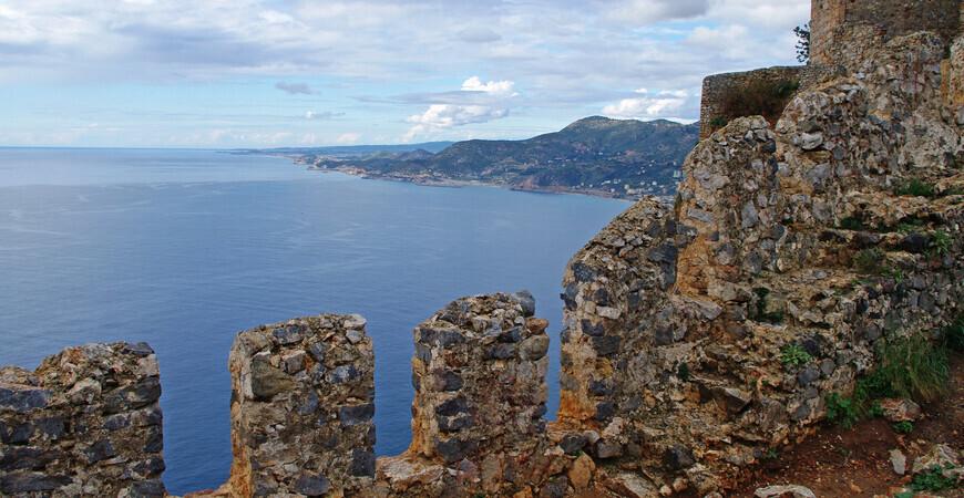 Внутренняя крепость Ич-Кале в Алании