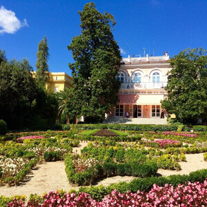 Вилла Анджолина и ее парк в центре Опатии