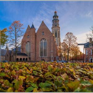 Мидделбург. Nieuwe Kerk и башня Lange Jan.