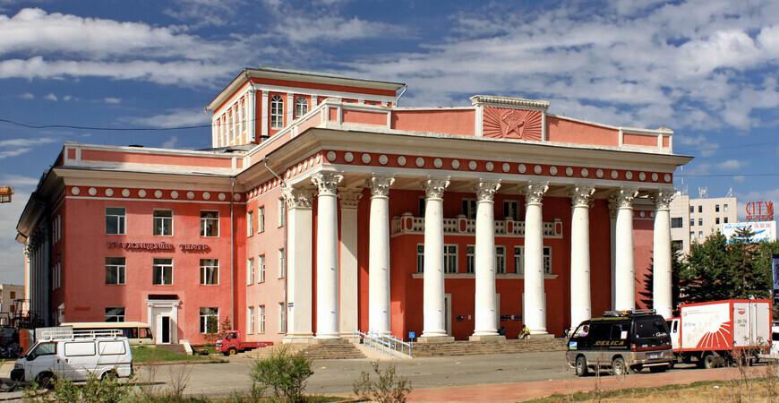 Национальный драматический театр Улан-Батора