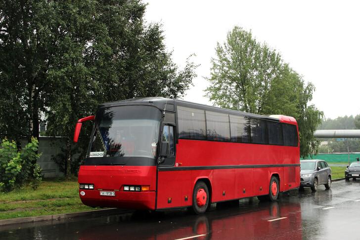 Автобус Гомель — Санкт-Петербург