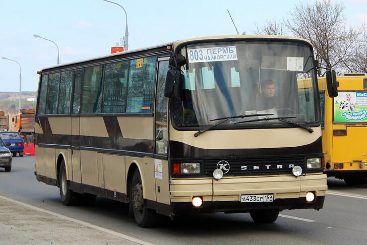 Автобус Пермь — Чайковский