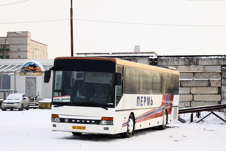 Автобус Пермь — Лысьва