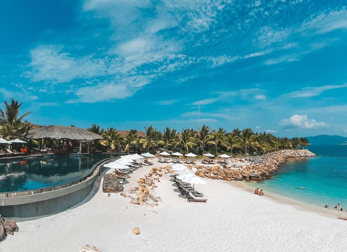 Жемчужный пляж Нячанга фото отели как добраться