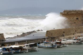 На западе Греции введён «красный» уровень метеоопасности