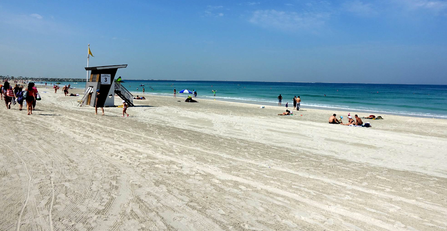 Пляж Аль Хан