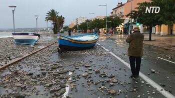 В странах Европы девять человек погибли из-за наводнений и оползней