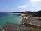 Вид на пляж со стороны отеля Rock Water Bay Beach