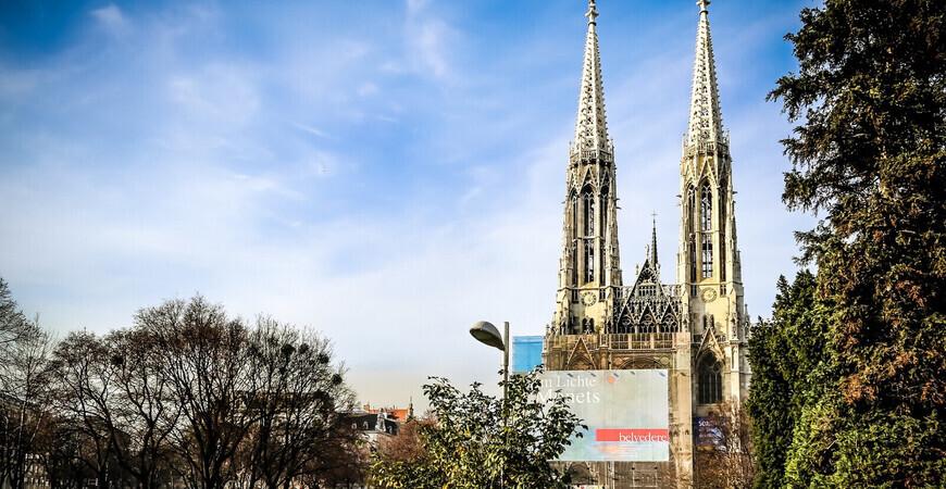 Вотивкирхе (Церковь Обета) в Вене