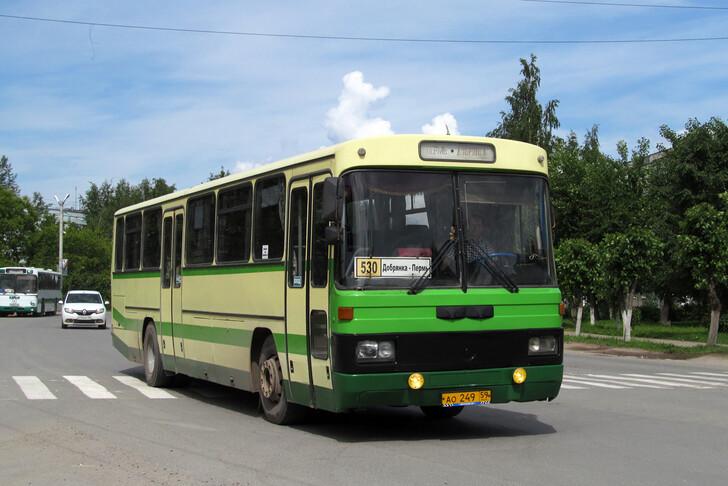 Автобус Пермь — Полазна
