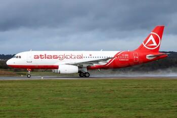 Турецкая авиакомпания Atlasglobal временно приостановила полёты
