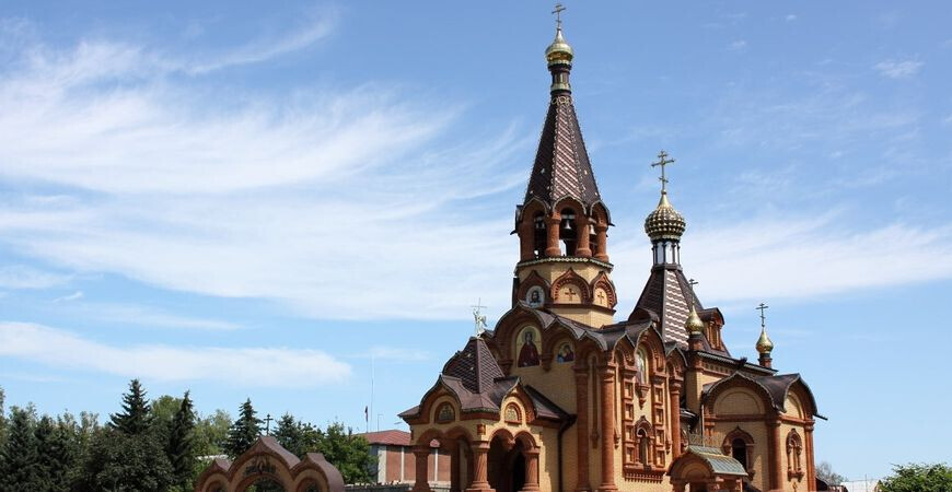 Храм Святой Екатерины<br/> в Сростках