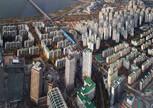 Вид со смотровой площадки Lotte World на город