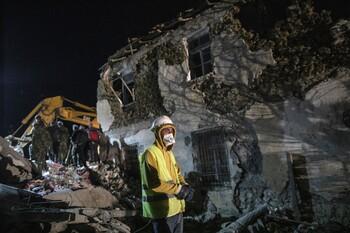 Ещё одно сильное землетрясение произошло в Албании