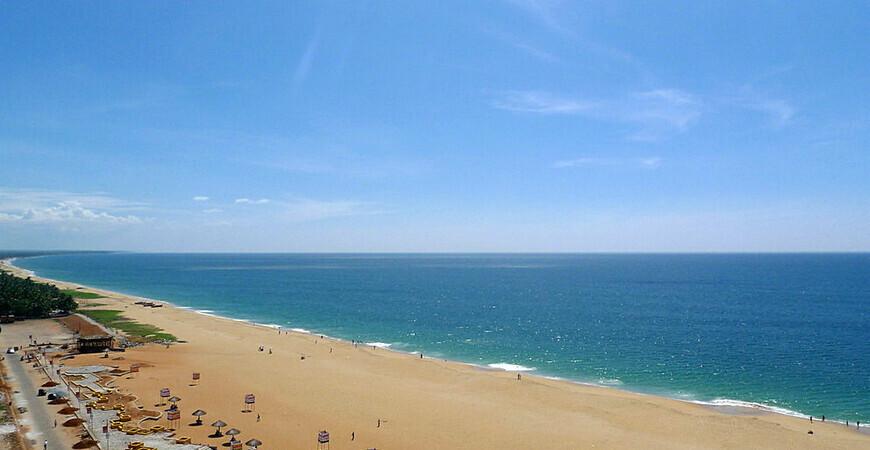 Пляж Коллам