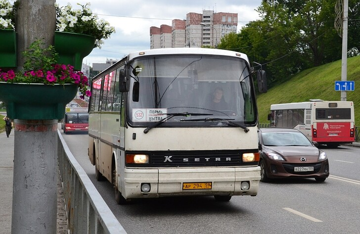 Автобус Пермь — Нытва