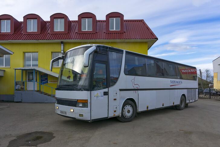 Автобус Пермь — Кудымкар