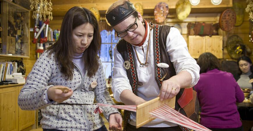 Традиционная мастерская<br/> А. Кангасниеми
