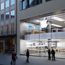 Фирменный магазин Apple в Мюнхене