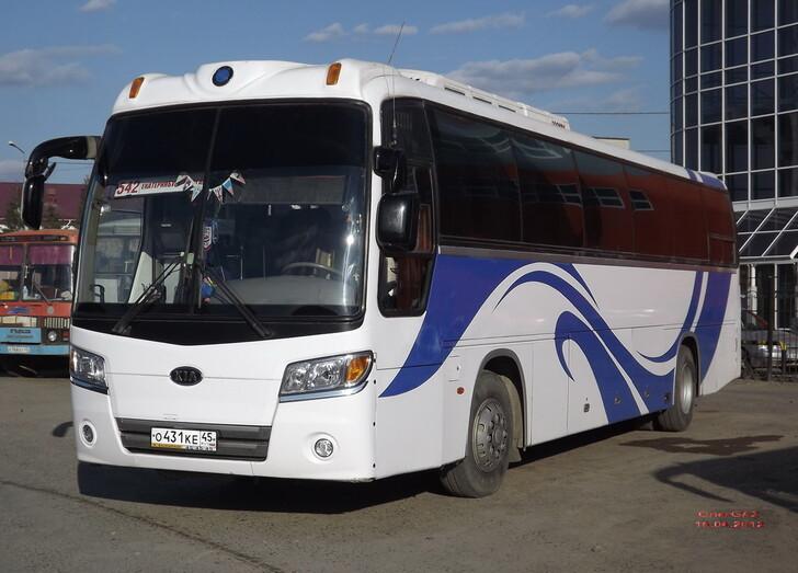 Автобус Екатеринбург — Курган