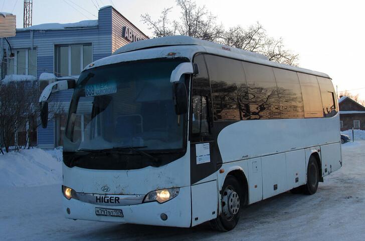 Автобус Юго-Камский — Пермь