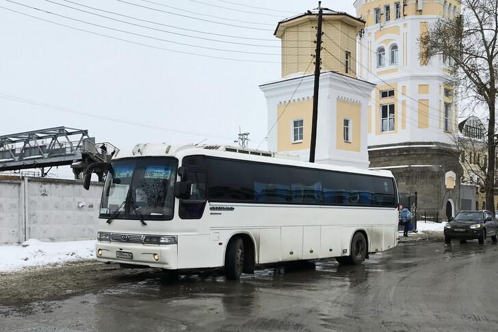 Автобус Екатеринбург — Нижняя Тура