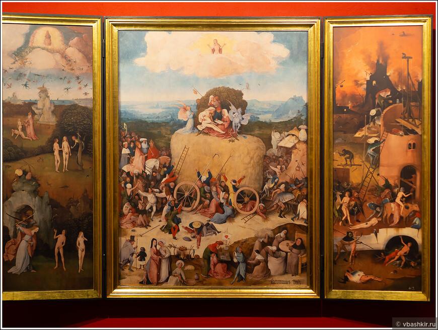 Хертогенбос. Арт-центр Иеронима Босха. К сожалению, оригиналов картин Босха в арт-центре нет, но он все равно дает отличное представление о творчестве великого художника.