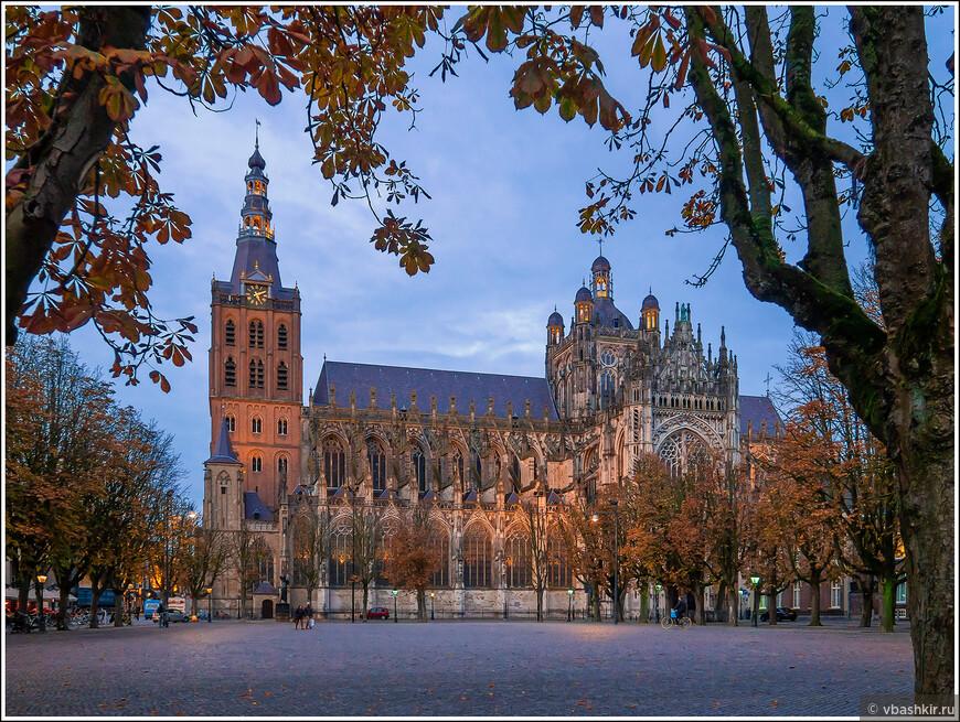 Хертогенбос. Собор Св. Иоанна - Sint-Janskathedraal. Построен в 14-ом веке. С 19-ого века продолжается его восстановление.