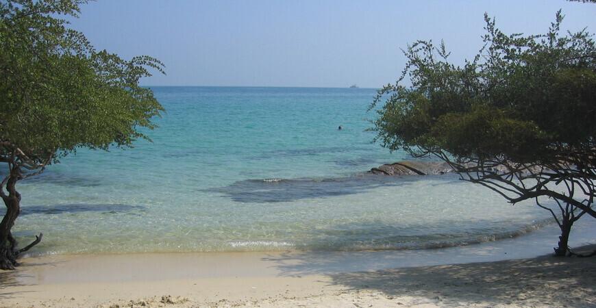Пляж Ао Тиан на Самете