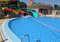 Две трубы в детском бассейне