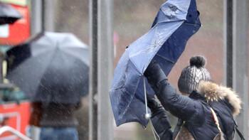 В Западную Европу пришёл циклон с сильным ветром