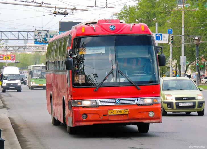 Автобус Екатеринбург — Асбест