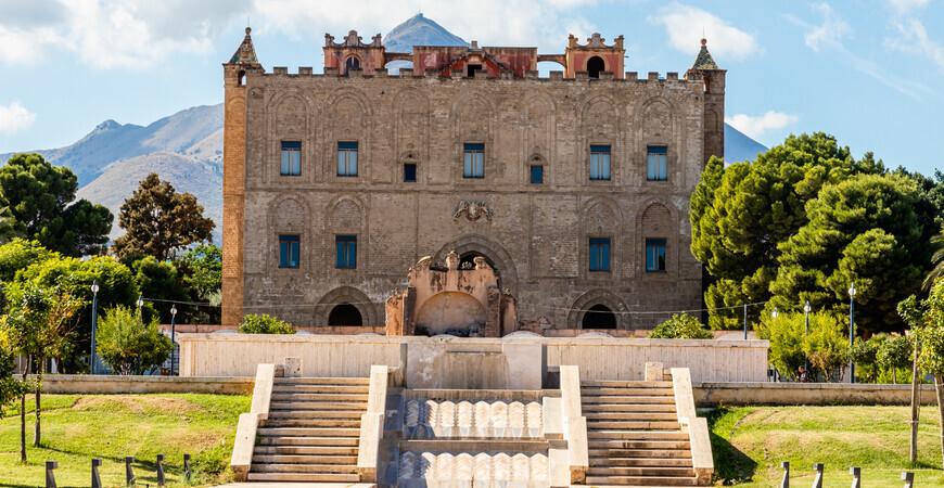 Дворец Циза на Сицилии