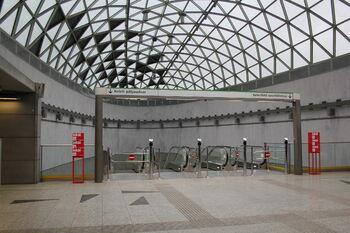 Станция метро Keleti pályaudvar