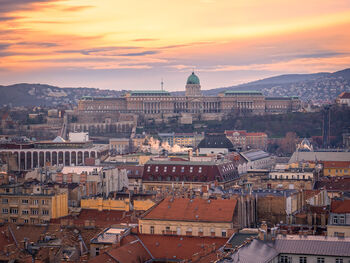 Вид на город с базилики Святого Иштвана