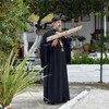 Отец Поликарп (ученик Святого Паисия) у себя в монастыре