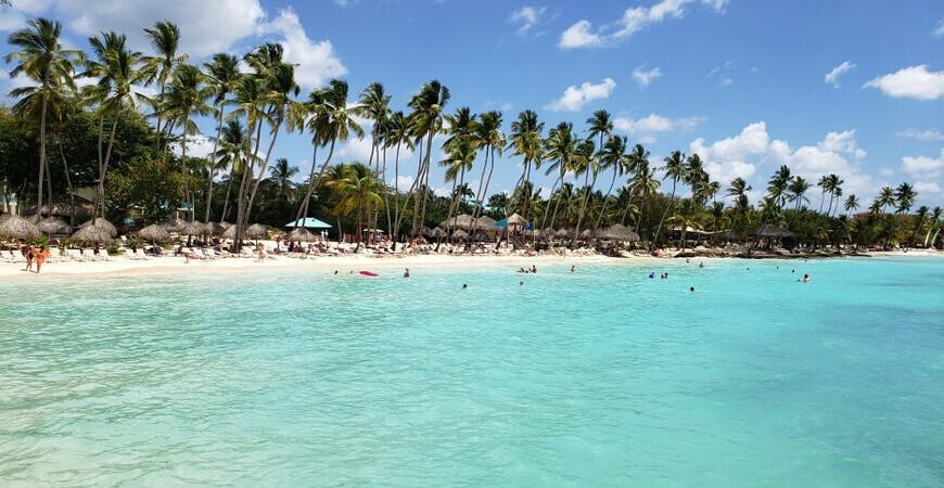 Пляж Байяибе (Playa Bayahibe)