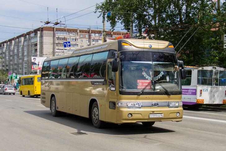 Автобус Екатеринбург — Красноуфимск