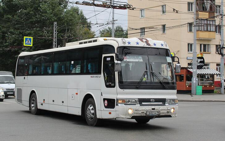 Автобус Екатеринбург — Сухой Лог