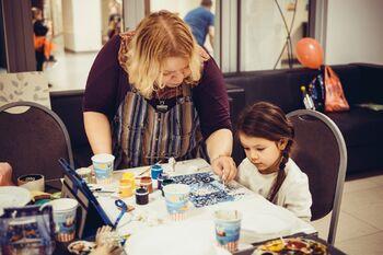 Детский мастер-класс в студии Rais ART