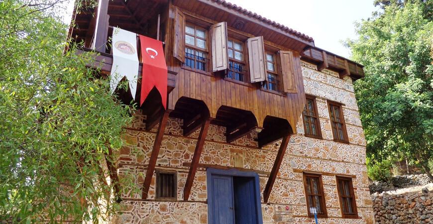 Традиционный турецкий дом
