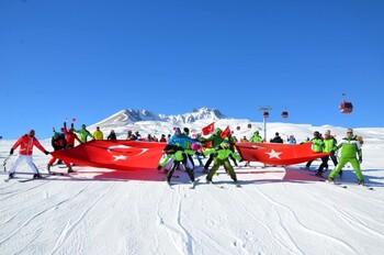 Туристы из РФ раскупили туры на горнолыжные курорты Турции