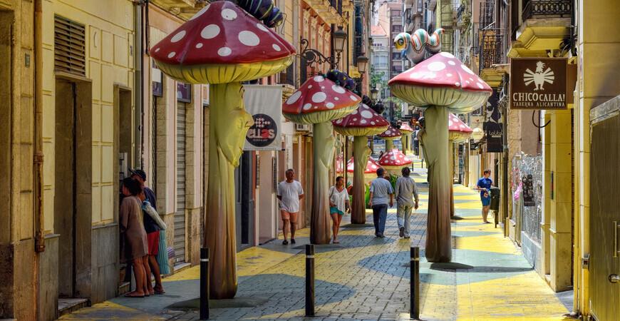 Улица грибов (Calle San Francisco)