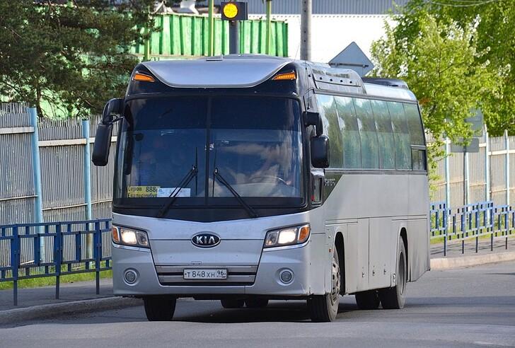 Автобус Екатеринбург — Серов