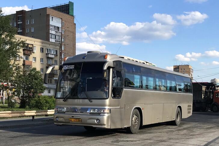 Автобус Екатеринбург — Новоуральск