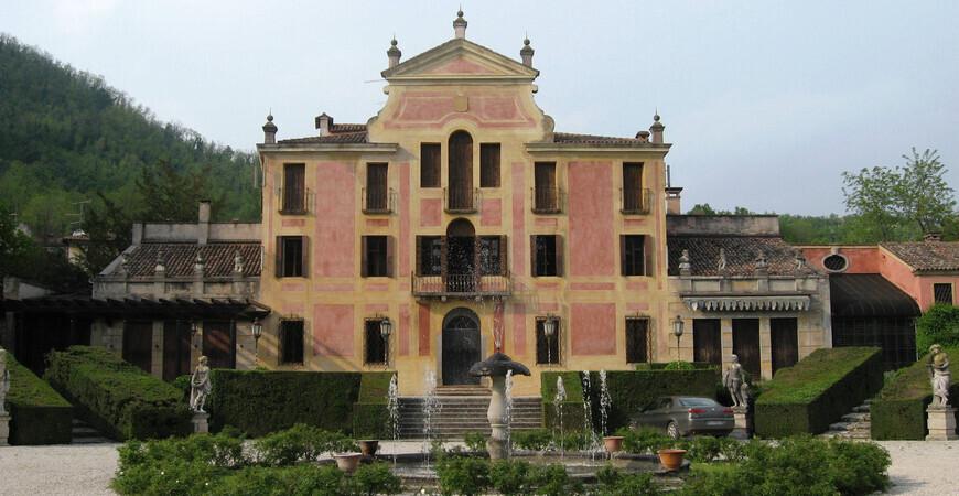 Вилла Барбариго в Италии