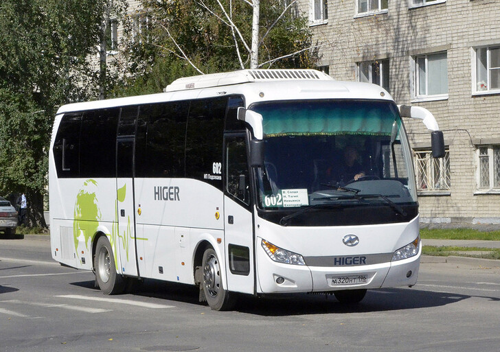 Автобус Екатеринбург — Верхняя Салда