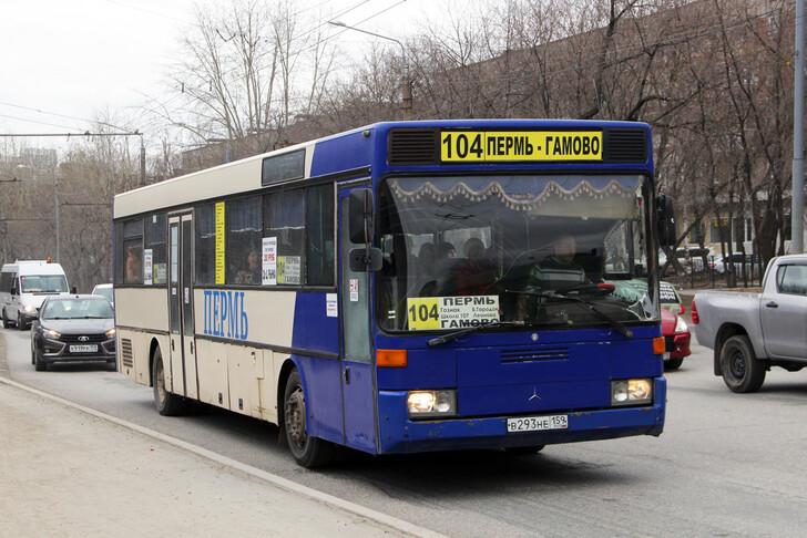 Автобус Пермь — Гамово