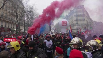 Забастовки во Франции не прекратятся на рождественских праздниках