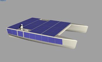Фёдор Конюхов отправится через два океана на катамаране на солнечных батареях
